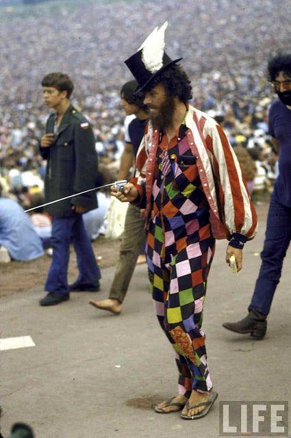 Woodstock 1969 E se a gente resgatar o estilo hippie de volta 30