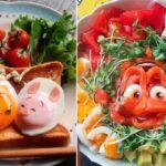 etncomam artista japones transforma comida em personagens da Disney e da Pixar
