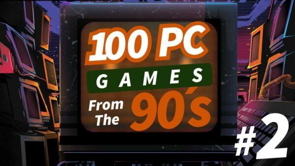 100 jogos de computador dos anos 90