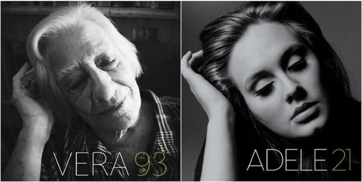 Em isolamento social esses idosos recriam capas de discos 7