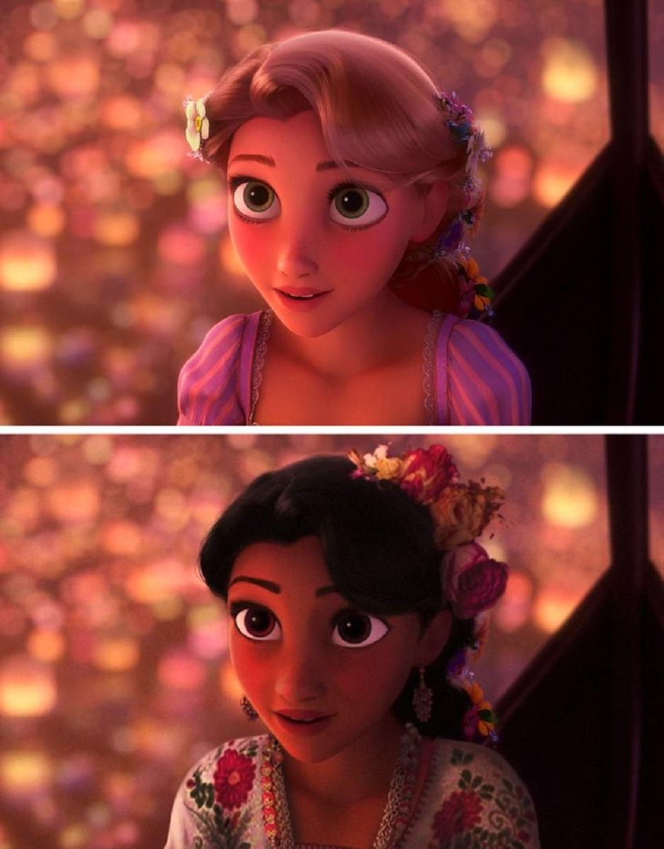 Let There Be Doodles projeto mostra como seriam algumas princesas da Disney com etnias diferentes 15