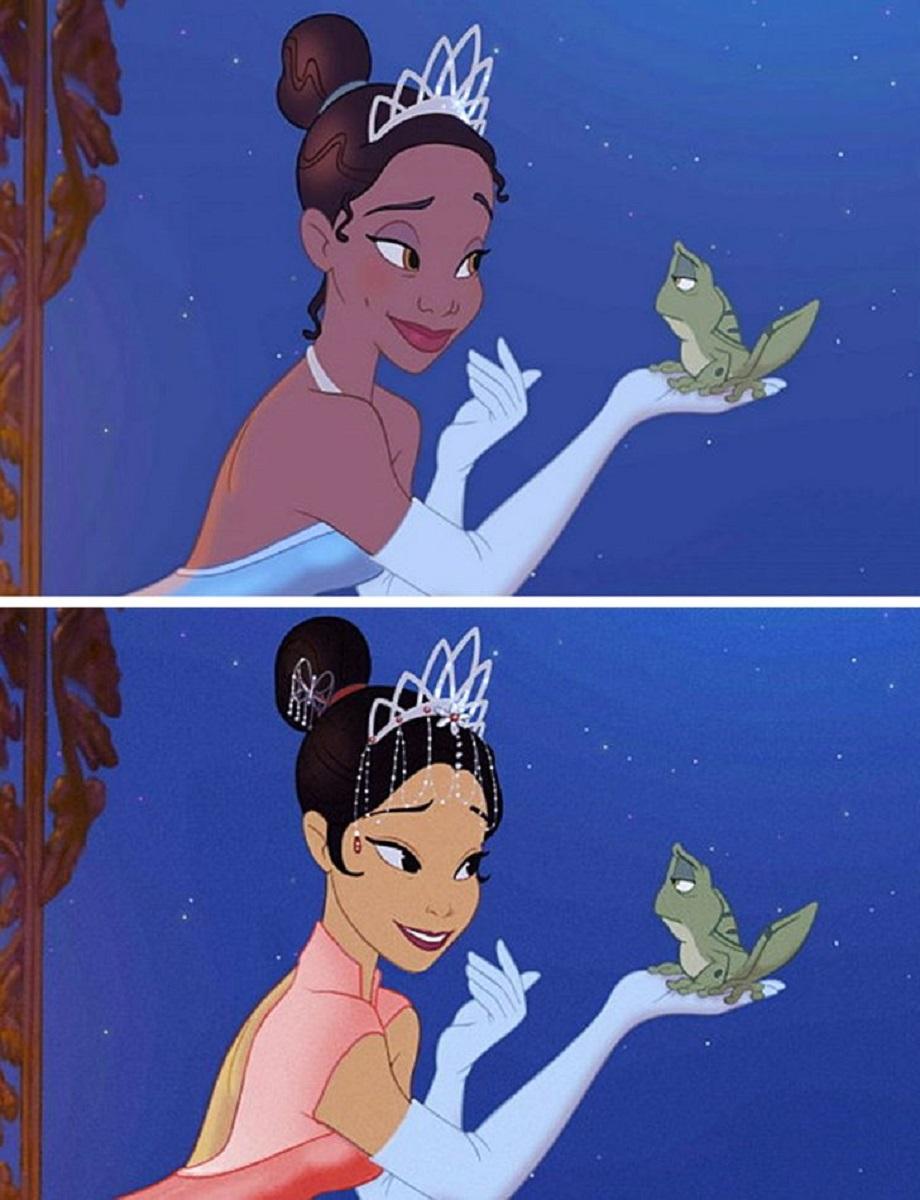 Let There Be Doodles projeto mostra como seriam algumas princesas da Disney com etnias diferentes 3