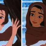 Let There Be Doodles projeto mostra como seriam algumas princesas da Disney com etnias diferentes 4 Copia