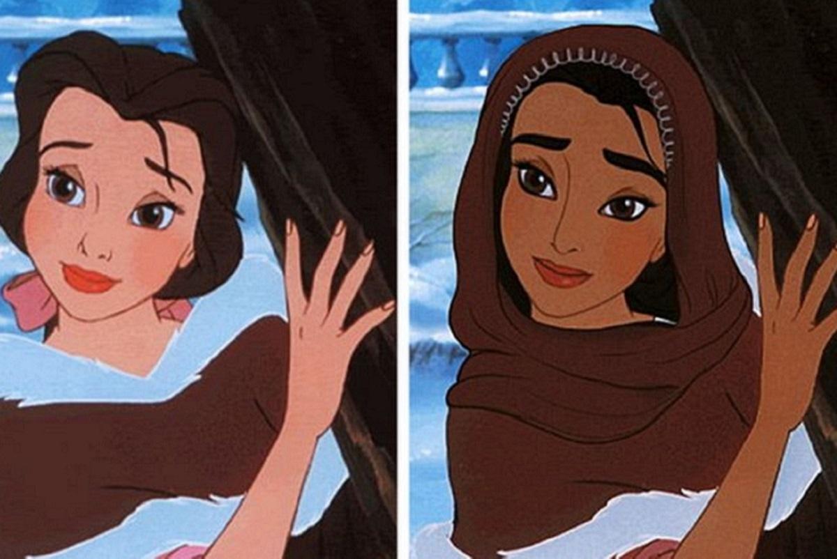 Let There Be Doodles!: projeto mostra como seriam algumas princesas da Disney com etnias diferentes