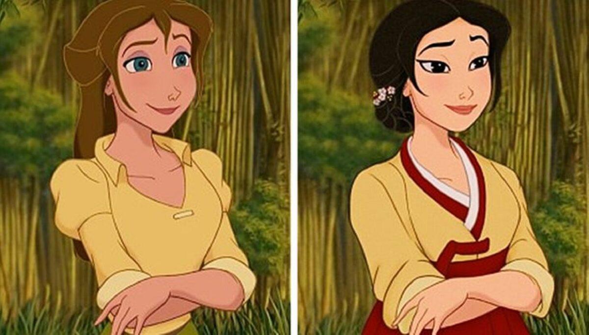 Let There Be Doodles projeto mostra como seriam algumas princesas da Disney com etnias diferentes 7
