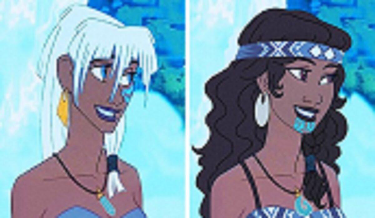 Let There Be Doodles projeto mostra como seriam algumas princesas da Disney com etnias diferentes 8