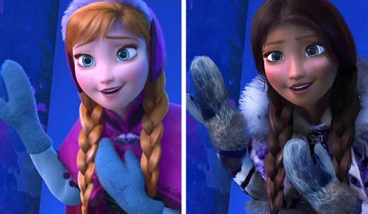 Let There Be Doodles projeto mostra como seriam algumas princesas da Disney com etnias diferentes 9