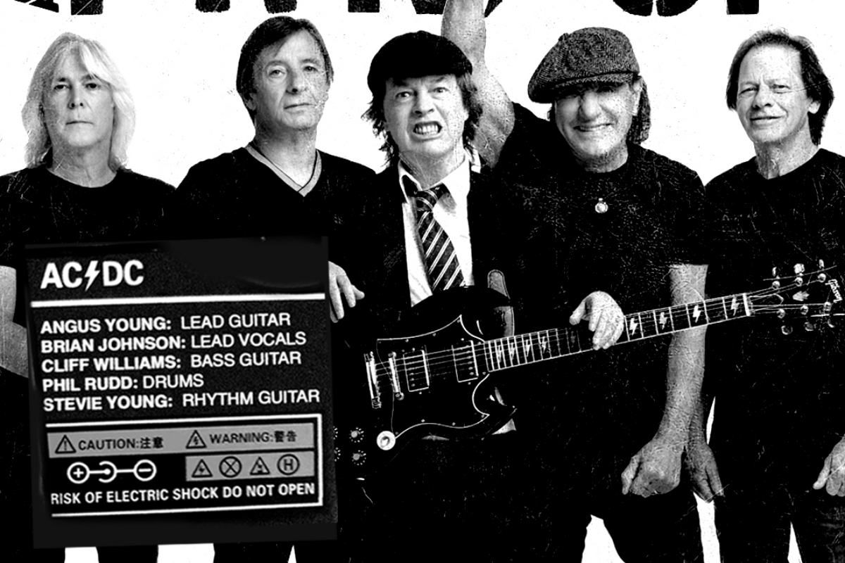 O ACDC esta de volta retorno de Brian Johnson Phil Rudd e Cliff Williams e expectativa de album novo Confira Ohms novo trabalho do Deftones