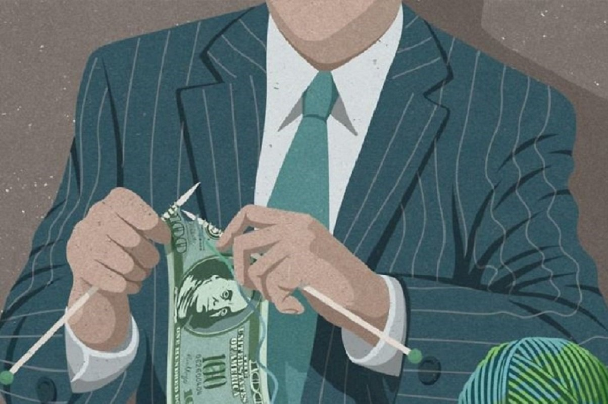 O artista John Holcroft cria ilustrações sobre problemas da sociedade moderna