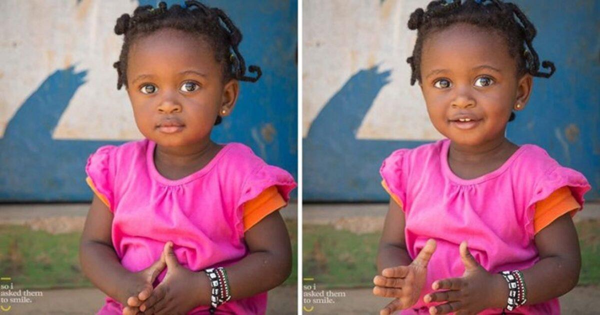 Pessoas antes e depois de um sorriso 2