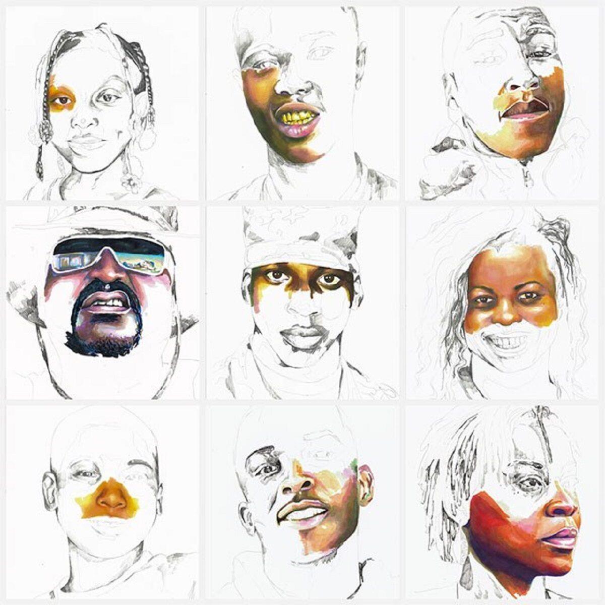 Stolen artista Adrian Brandon cria obra dedicada a negros mortos por policiais 11