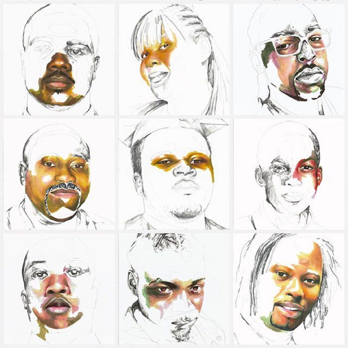 Stolen artista Adrian Brandon cria obra dedicada a negros mortos por policiais 12