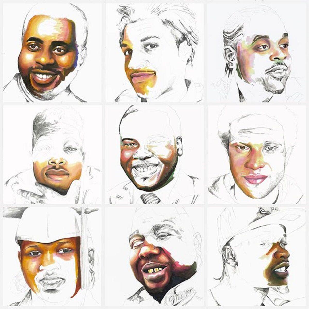 Stolen artista Adrian Brandon cria obra dedicada a negros mortos por policiais 13