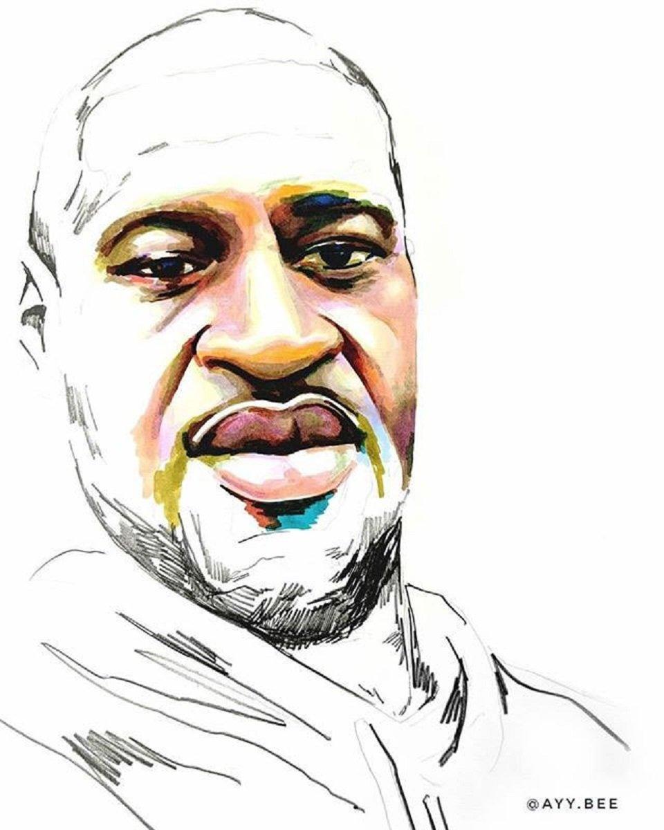 Stolen artista Adrian Brandon cria obra dedicada a negros mortos por policiais 4