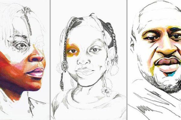 Stolen artista Adrian Brandon cria obra dedicada a negros mortos por policiais 50