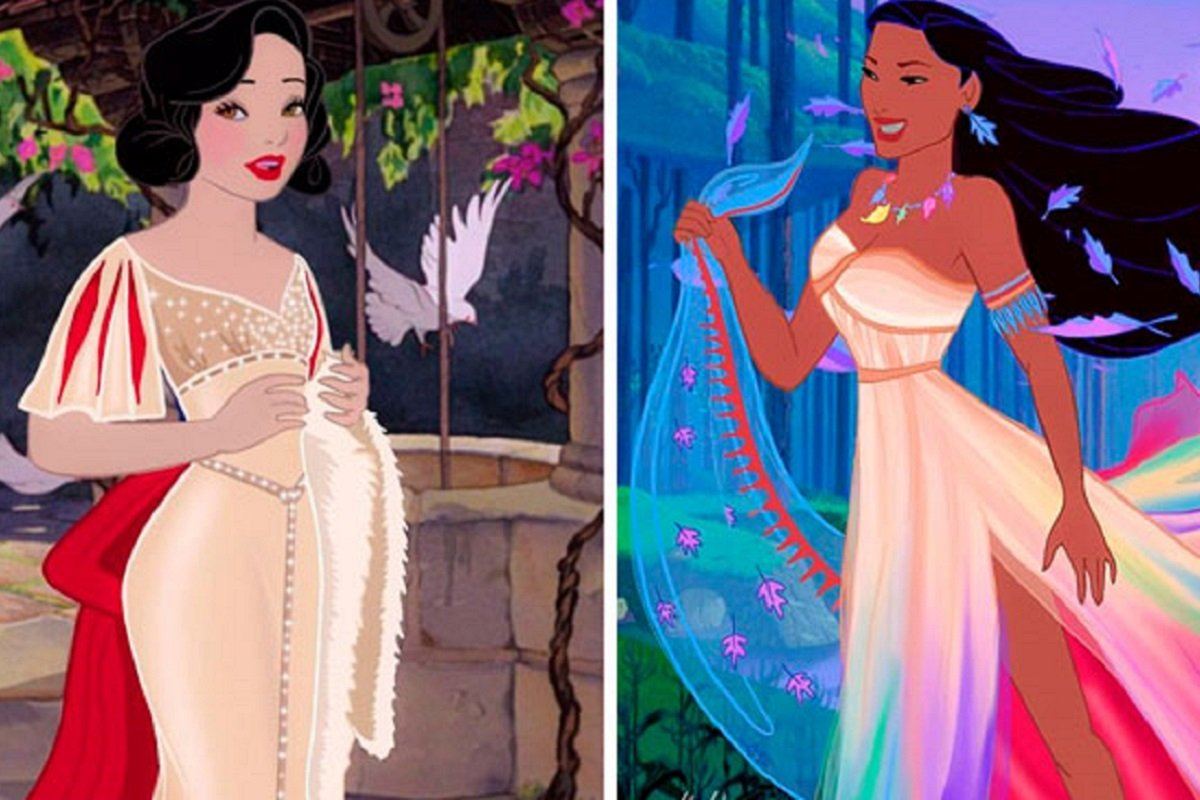 We Call It Disney este projeto mostra como seriam as princesas da Disney modernas 10