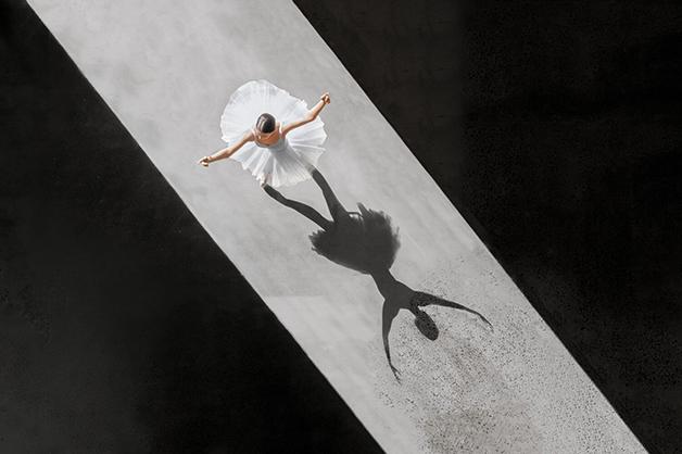 A beleza do bale fotografo Brad Walls registra fotos unicas com drone 3
