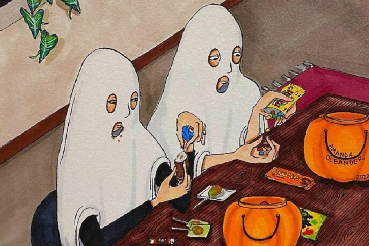 Amanda Oleander: essas ilustrações sobre relacionamentos longos vão te fazer pensar
