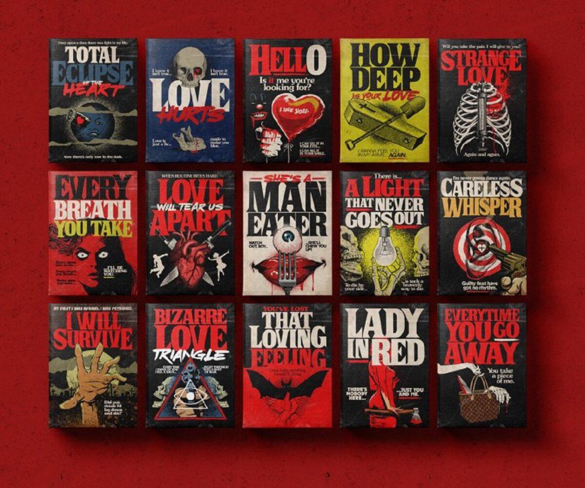 Butcher Billy designer brasileiro cria posteres inspirados em Stephen King e classicos da musica 18