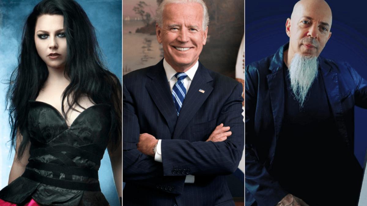 Eleicoes Norte Americanas musicos do rock e do metal reagindo a vitoria de Joe Biden 1