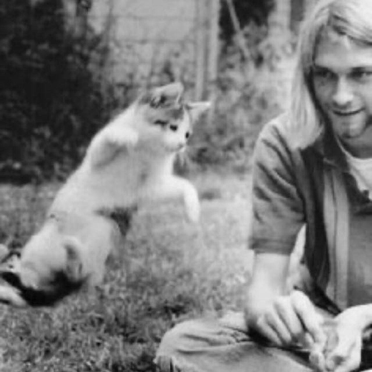Essas fotos bastante raras mostram Kurt Cobain sorrindo 10
