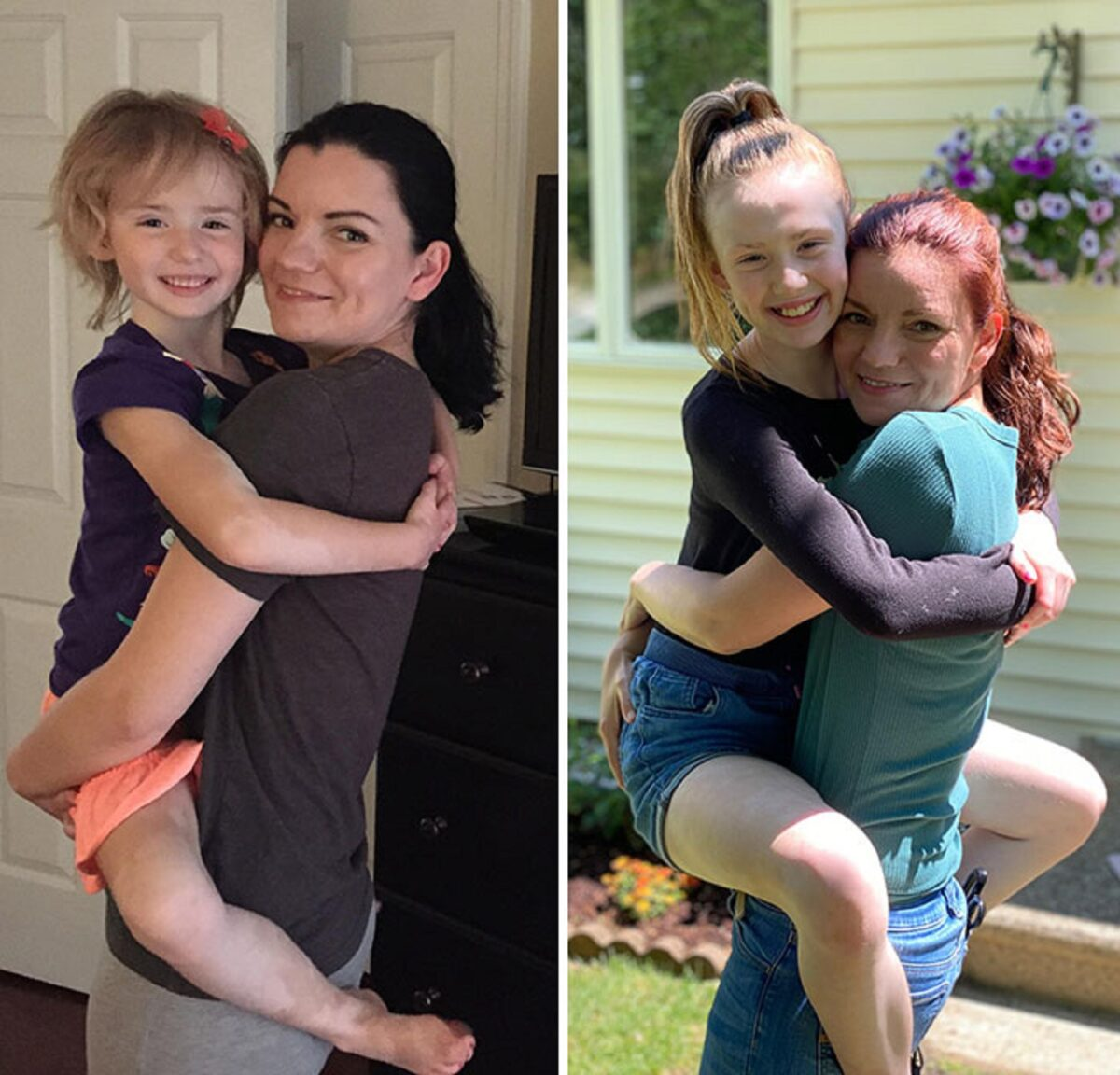 Fotos de familia recriadas de forma identica 12