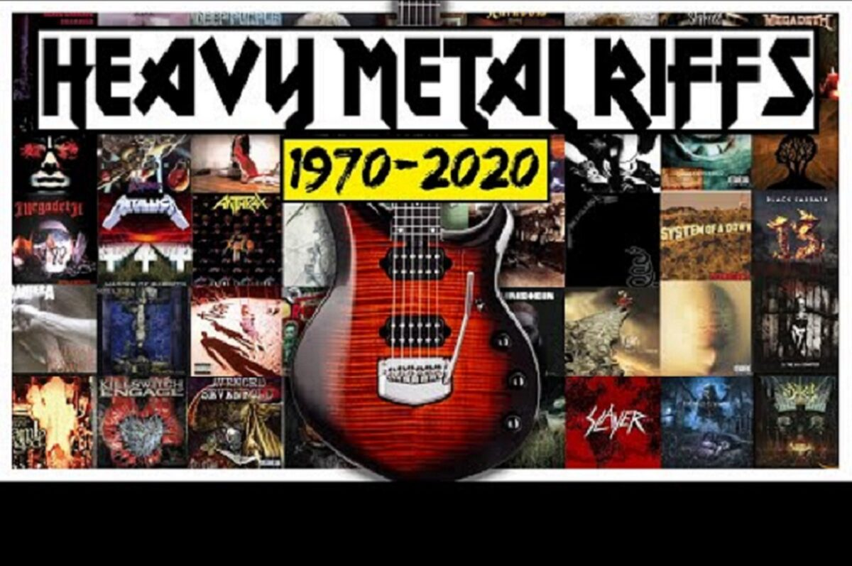 HISTORIA DA GUITARRA HEAVY METAL Riffs 1970 2020 Canal Karl Golden
