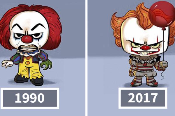 Ilustrador Jeff Victor cria evolucao ilustrada de personagens da cultura pop 21
