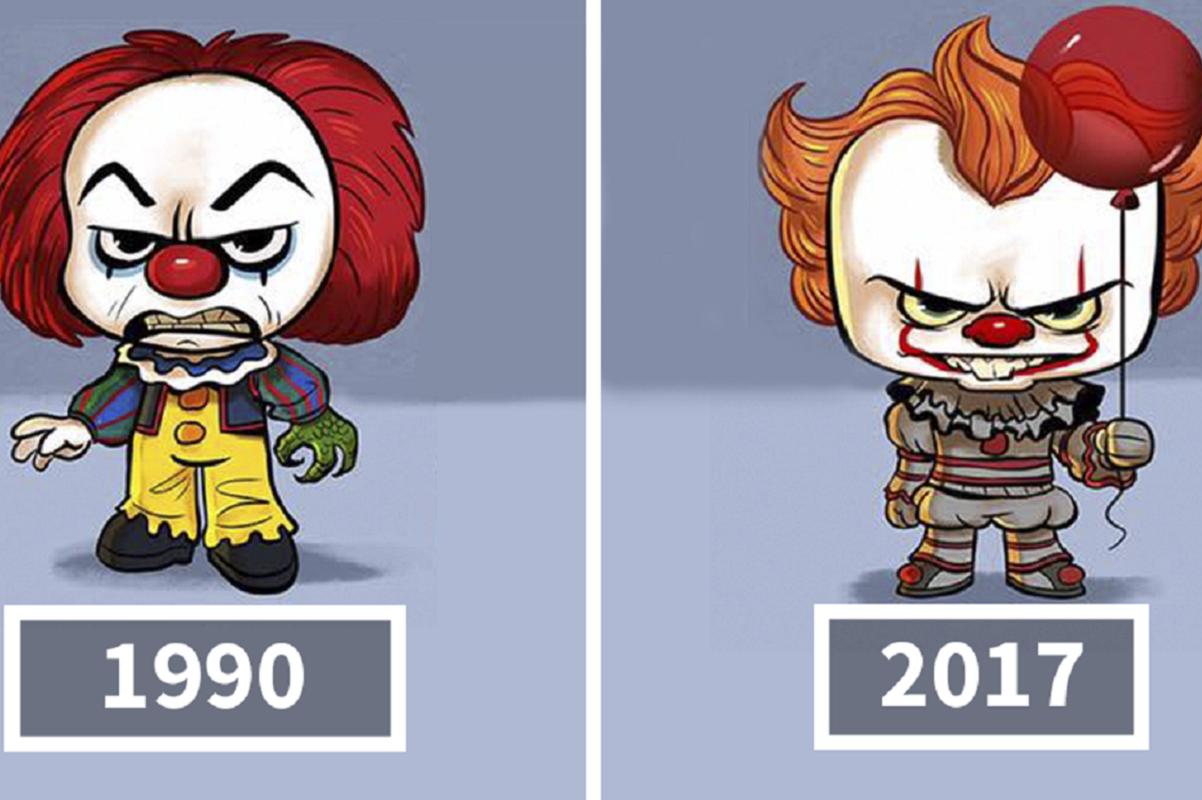Ilustrador Jeff Victor cria evolução ilustrada de personagens da cultura pop
