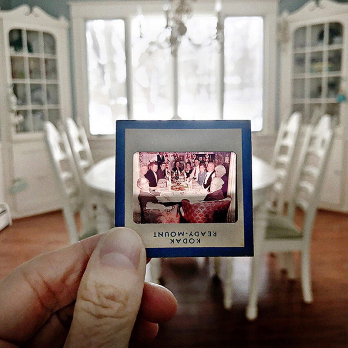No Memory is Ever Alone projeto usa fotografias para mostrar a passagem do tempo 2