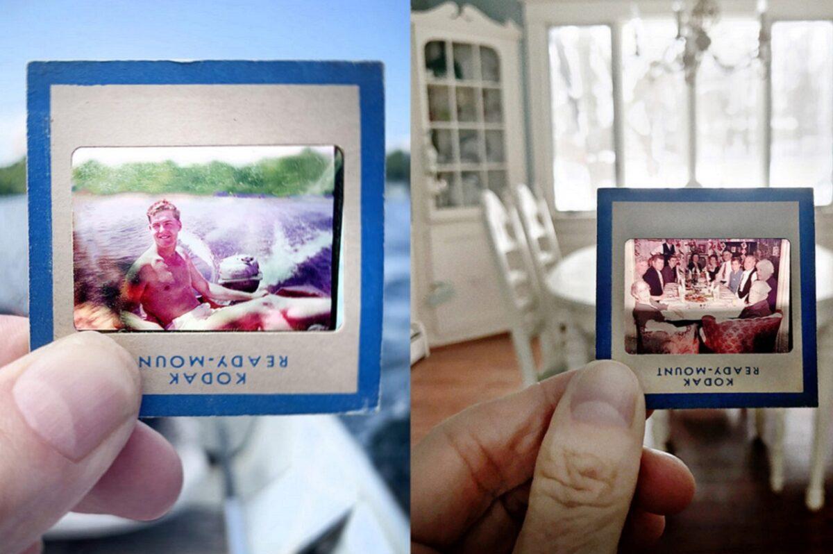 No Memory is Ever Alone projeto usa fotografias para mostrar a passagem do tempo 9