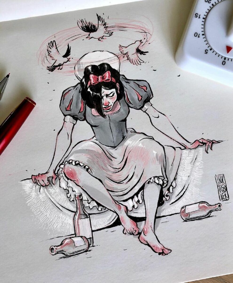O artista Konstantin Andreev redesenha personagens da cultura pop e surpreende com originalidade 4