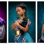 Princesas da Disney negras Projeto CreativeSoul Photography mostra como seria 17