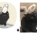 Tactoonca artista indonesio redesenha memes de gatinhos 13