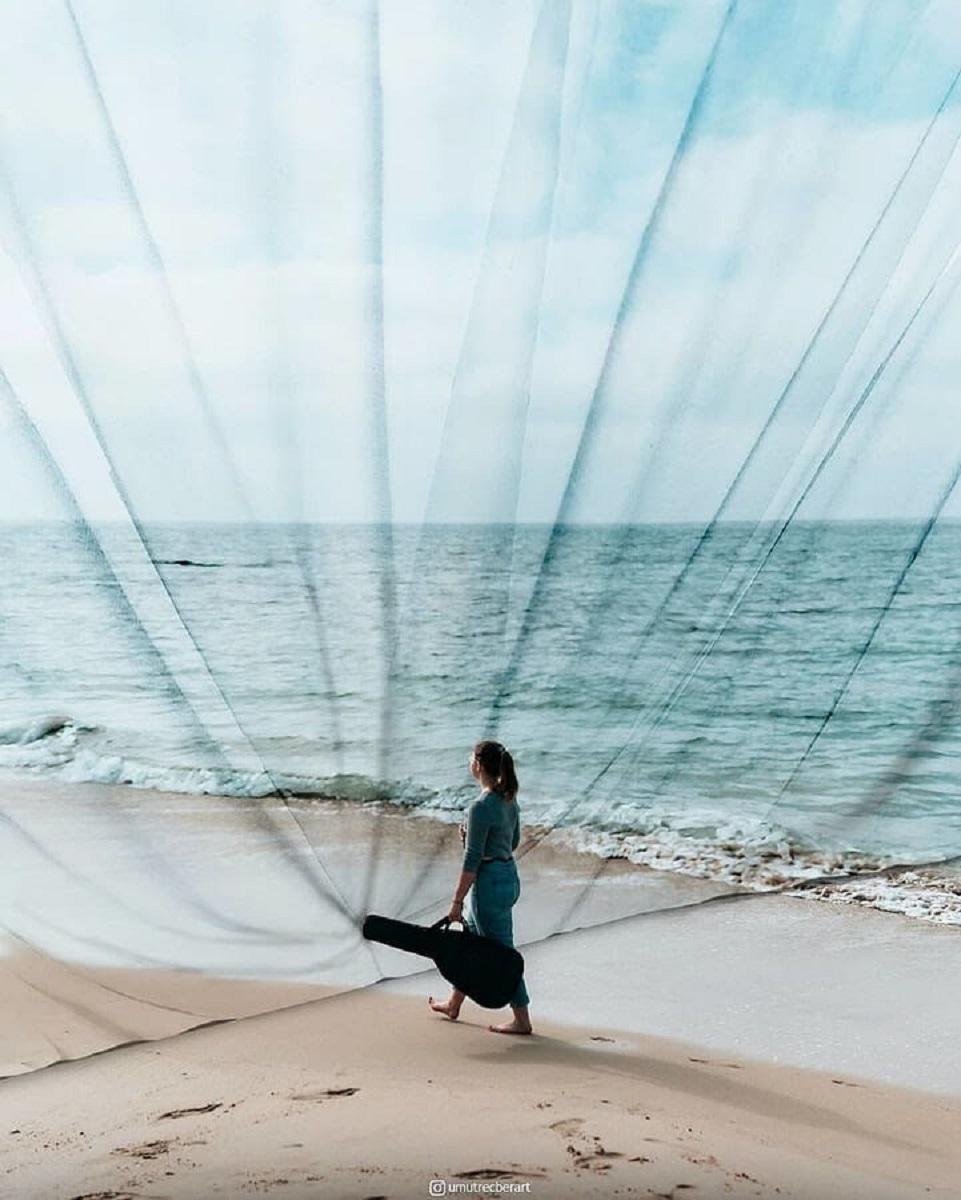 Umut Recber artista turco que cria mundos surreais com fotos 10