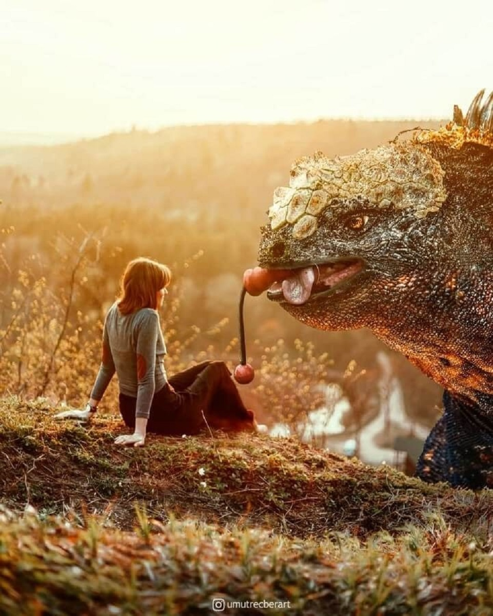 Umut Recber artista turco que cria mundos surreais com fotos 11