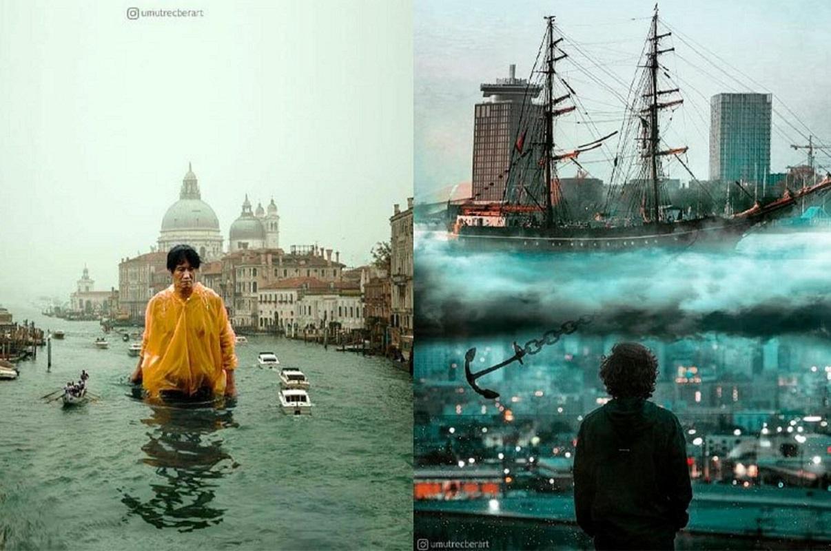 Umut Recber: artista turco cria fotos de mundos surreais