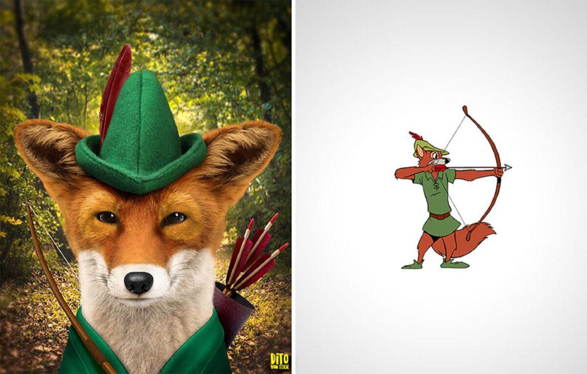 Artista faz releitura e mostra como seriam personagens de desenhos animados na vida real 11