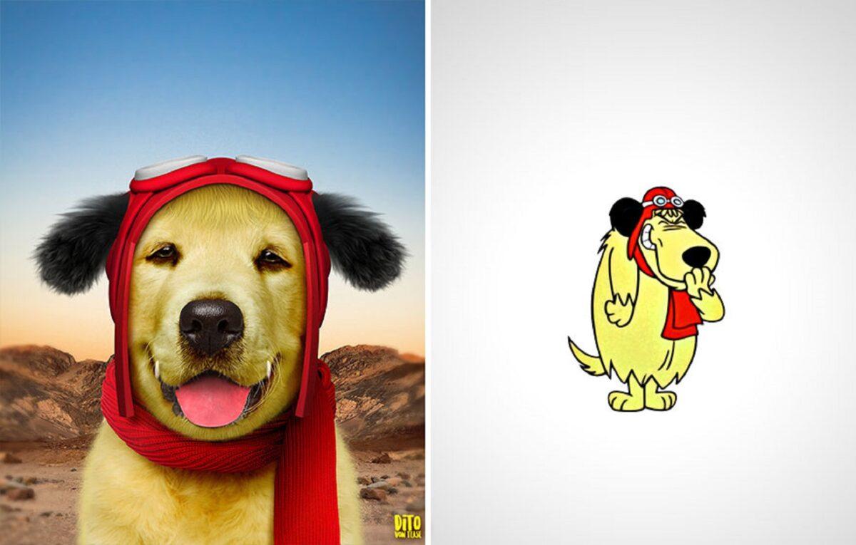 Artista faz releitura e mostra como seriam personagens de desenhos animados na vida real 17
