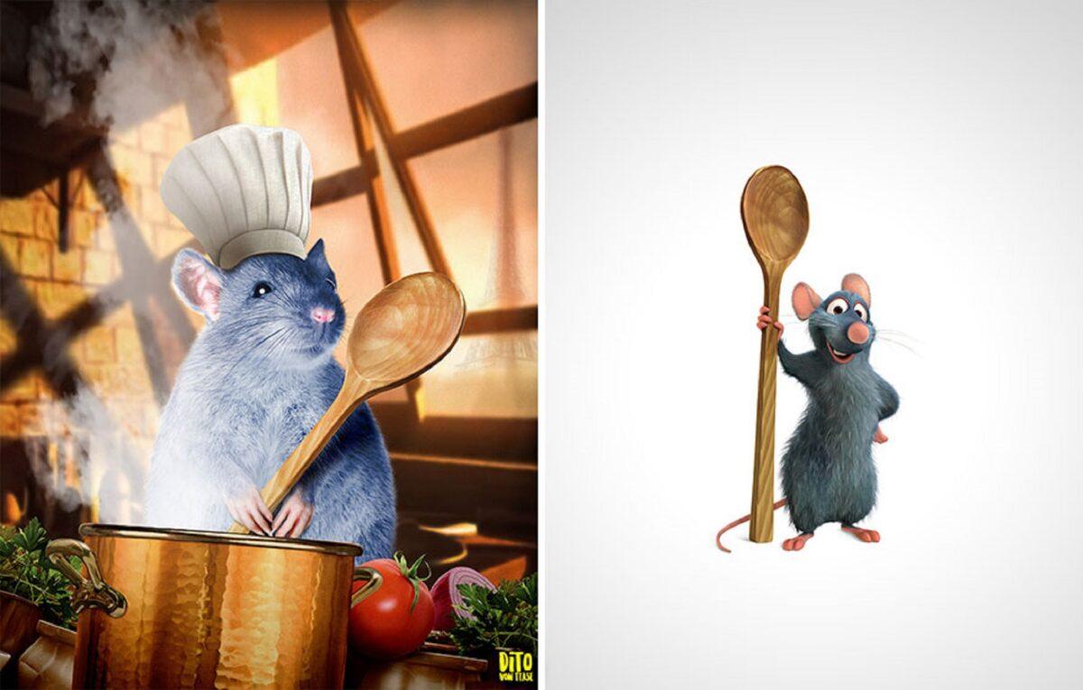 Artista faz releitura e mostra como seriam personagens de desenhos animados na vida real 18