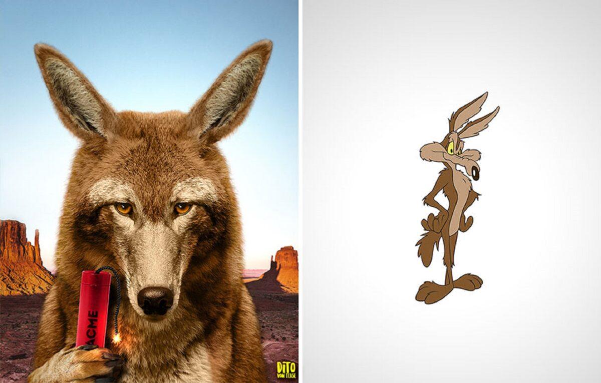 Artista faz releitura e mostra como seriam personagens de desenhos animados na vida real 21