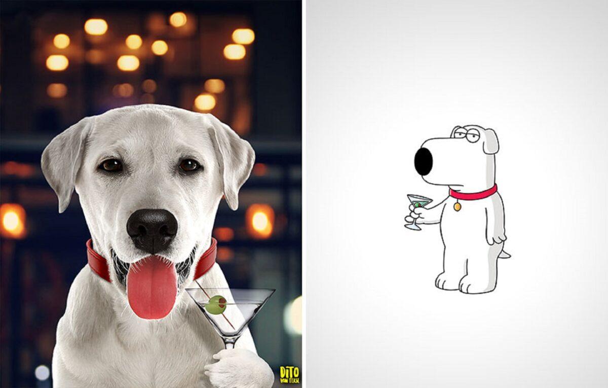 Artista faz releitura e mostra como seriam personagens de desenhos animados na vida real 22