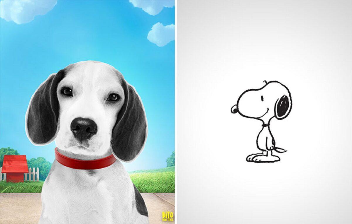 Artista faz releitura e mostra como seriam personagens de desenhos animados na vida real 4