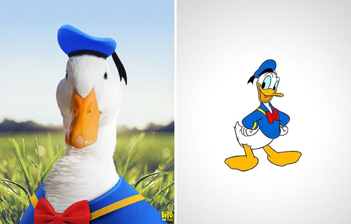 Artista faz releitura e mostra como seriam personagens de desenhos animados na vida real 5