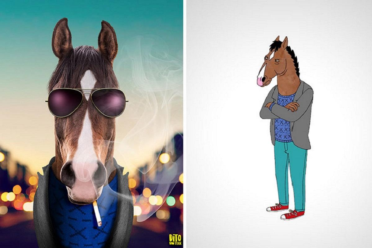 Artista faz releitura e mostra como seriam personagens de desenhos animados na vida real 50