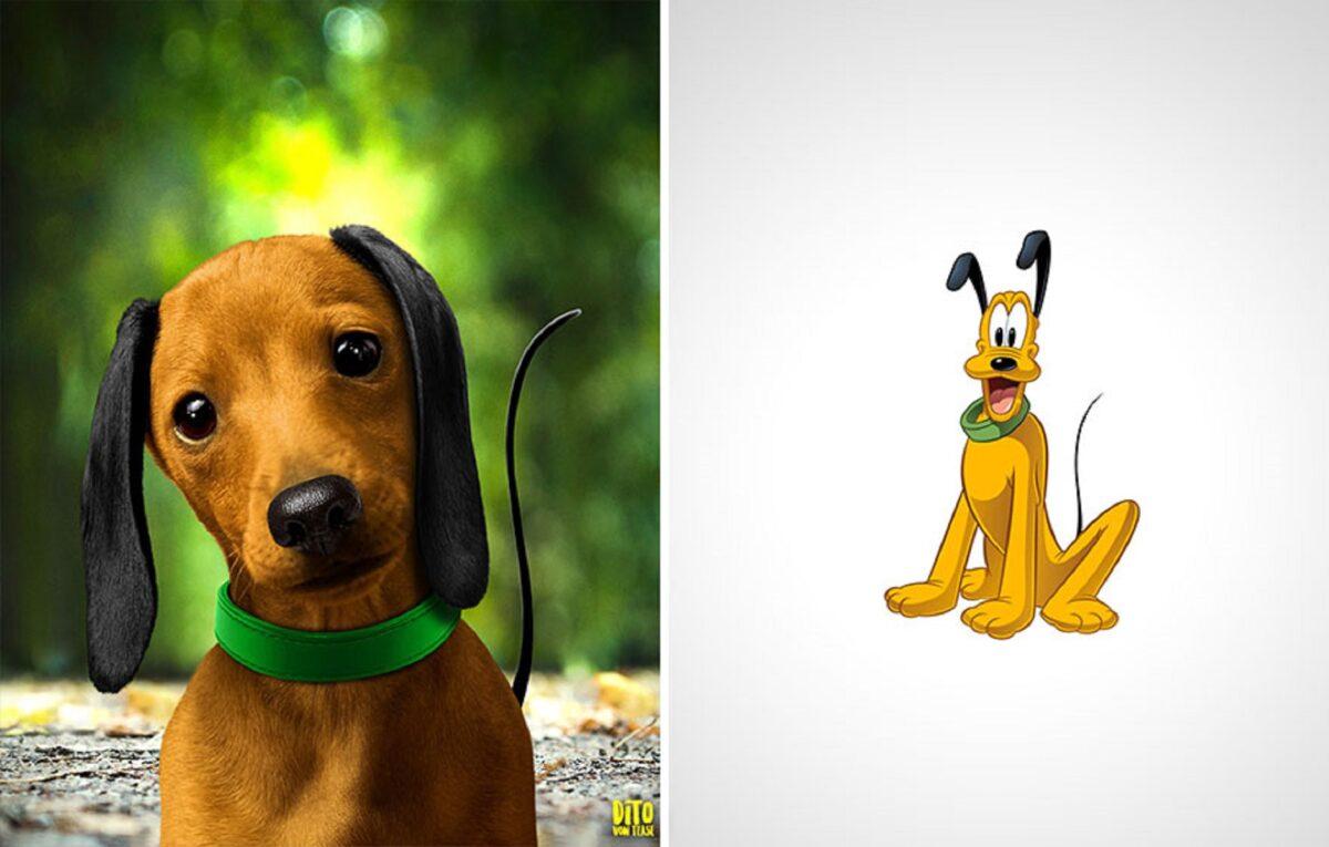 Artista faz releitura e mostra como seriam personagens de desenhos animados na vida real 9