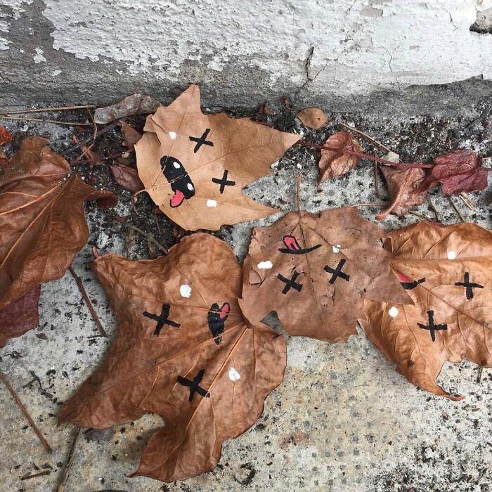 Atos de vandalismo artistico 12