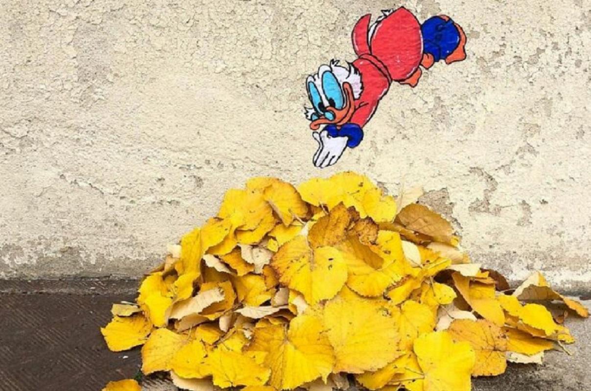 Atos de vandalismo artístico do francês Cal