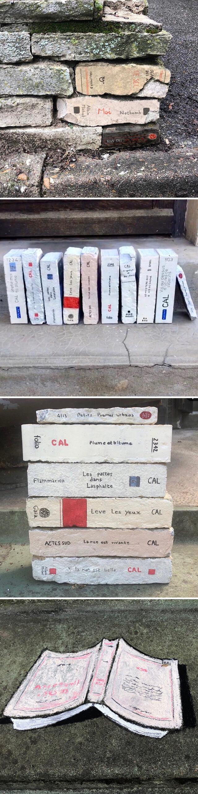 Atos de vandalismo artistico 8