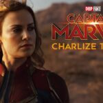 Charlize Theron como Captain Marvel DeepFake